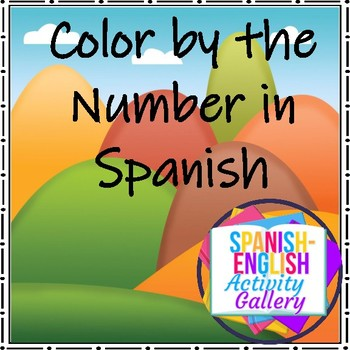Color by the Number in Spanish