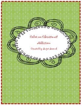 Color me Christmas- Addition