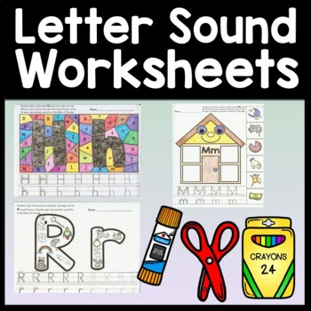 Beginning Sounds Worksheets and Letter Sounds Recognition