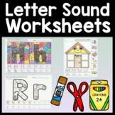 Letter Sound Recognition {26 Alphabet Sound Pages!}