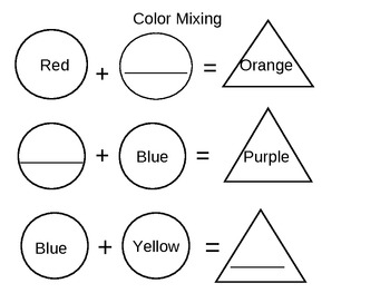Color wheel and mixing