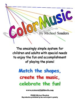 ColorMusic Music Notation System