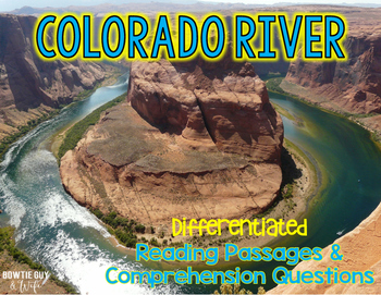 Colorado River Differentiated Nonfiction Reading Passages
