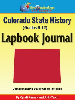 Colorado State History Lapbook Journal