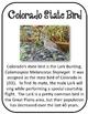 Colorado State History Unit. U.S. State History. State Symbols