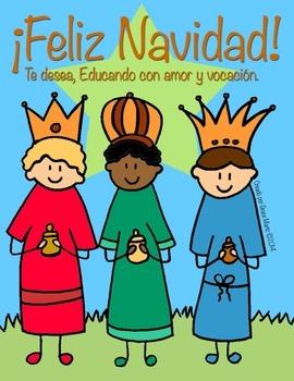 Colorea los Reyes Magos