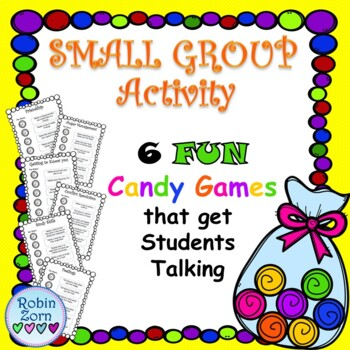 Colored Candy Game for Small Groups