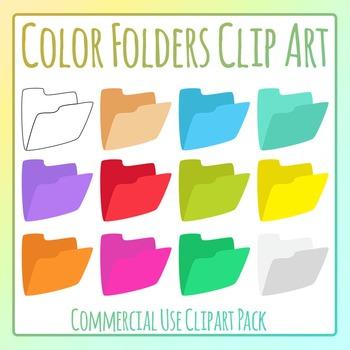 Colored Cardboard Folders / Filing / Manila Folders Clip A