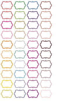 Colored Frames Edges