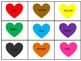 Colored Hearts Book
