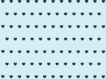 Colored Hearts Polkadot Backgrounds