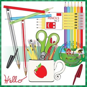 Colored Pencils Pencils and Pens