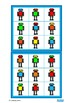 Autism Colors Lotto Game, Robots, Social Skills Turn Takin