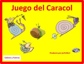 Colores y Formas (Colors and Shapes in Spanish) Caracol Sn