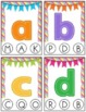 Colorful Alphabet Clip Cards - Upper and Lower Case, and B