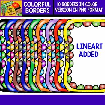 Colorful Borders - Set 1