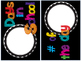 Bright Calendar Pieces and AWESOME calendar activities! (b