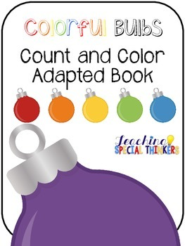 Colorful Bulbs Count and Color Adapted Book