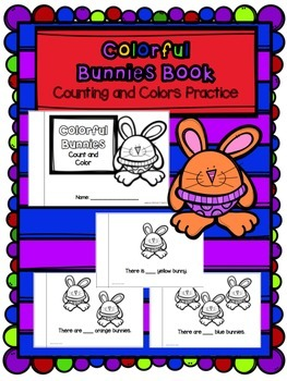 Colorful Bunnies - Counting and Colors Practice