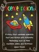 Chalkboard Book Genre Posters