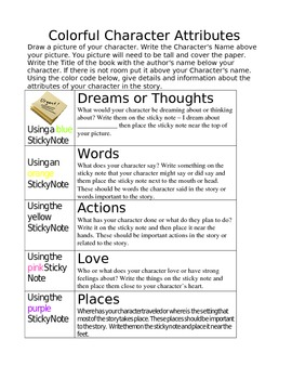Colorful Character Attributes