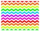 Colorful Chevron Common Core Labels