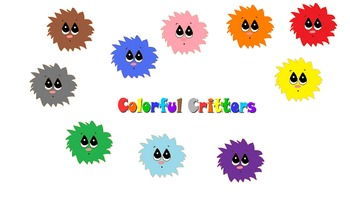 Colorful Critters Clip Art