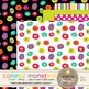 Colorful Cute Funny Silly Monsters Printable Digital Papers