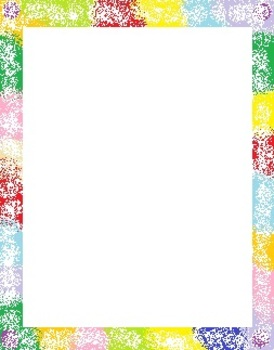 Colorful Frames for Personal or Commercial Use
