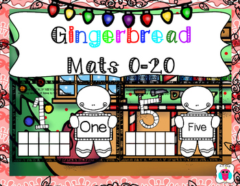 Colorful Gingerbread Mats 0-20