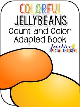 Colorful Jellybeans Count and Color Adapted Books