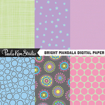 Digital Paper - Mandala