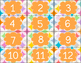 Colorful Overlapping Circle Number Labels