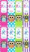 {COLORFUL} Owl Theme Editable Bookmarks