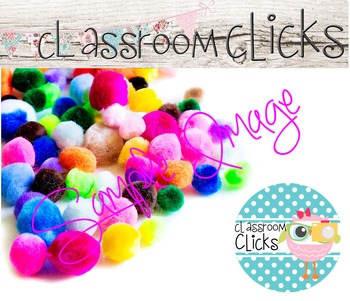 Colorful Pom-Poms Image_218:Hi Res Images for Bloggers & T