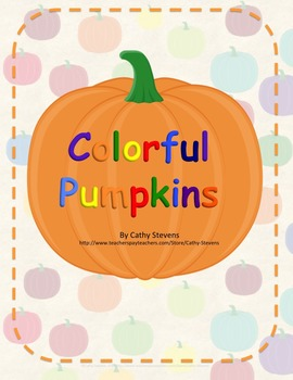 Colorful Pumpkins - Activity unit - Color Identification a