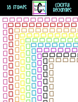 Colorful Rectangle Frames