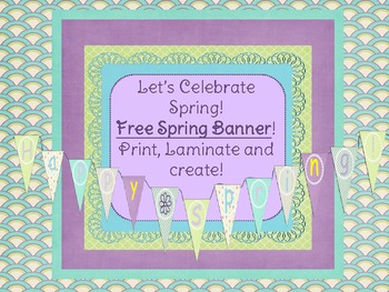 Colorful Spring Banner