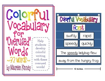 Colorful Vocabulary for Overused Words