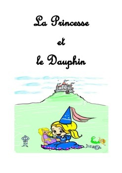 Colorful illustrated story for children in French