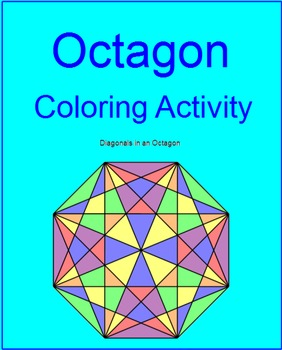Coloring Activity - Octagon TEMPLATE (FREEBIE, Thank you 2
