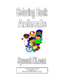 Coloring Book for Animal Words