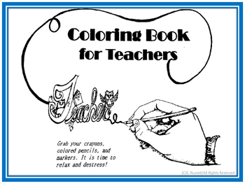 Coloring Book for Teachers