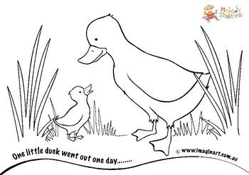 Coloring In Ducks