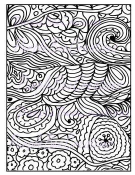 Coloring Pages-Fun Doodle Coloring Page #1