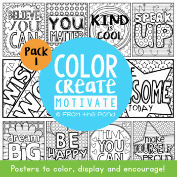 Coloring Posters