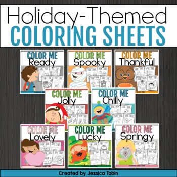 Coloring Sheets Bundle