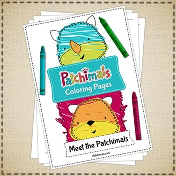 Coloring pages: Meet the Patchimals