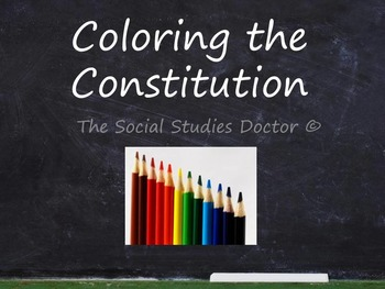 Constitution Day Activity! (Visual Mapping)