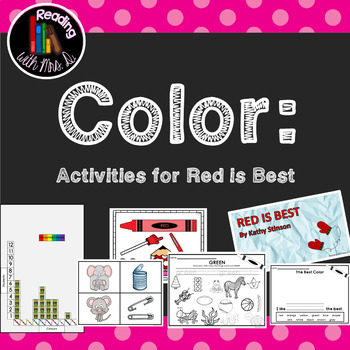 Colors Activity Pack: Featuring Activities for Red is Best